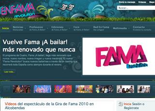 En Fama - Tu Web de Fama ¡A Bailar!