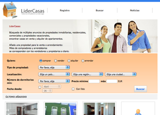 Lidercasas - Portal Inmobiliario